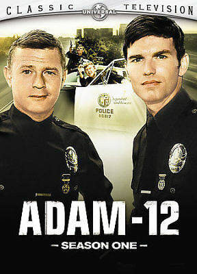 Adam-12- The Complete First Season (DVD, 2005, 2-Disc Set) FREE SHIPPING
