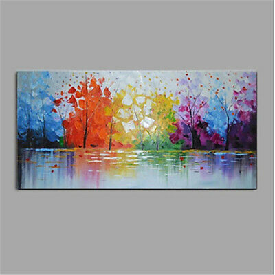 Huge Abstract Scenery 100% Hand-Painted Oil Painting Canvas Home Decor Wall Art