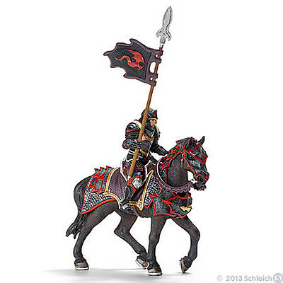 NEW SCHLEICH 70102 Armoured Dragon Knight on War Horse With Lance magnet feature