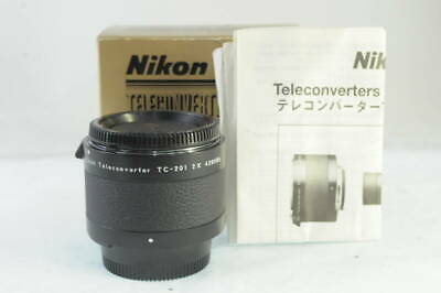 NIKON TELECONVERTER TC-201 2X ** Excellent +++++ in Box ** From Japan FLoj