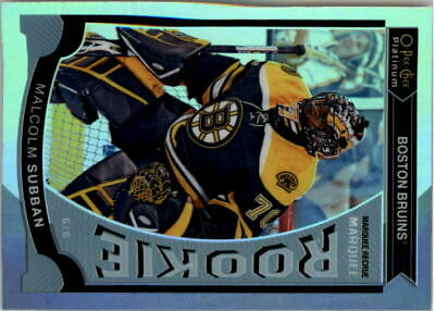 2015-16 O-Pee-Chee Platinum Marquee Rookies Rainbow #M5 Malcolm Subban