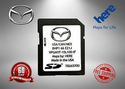 2019 MAZDA Navigation SD Card BHP1 66 EZ1F USA/CAN/MEX