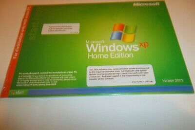 Windows XP Home Edition genuine 1 x disk only