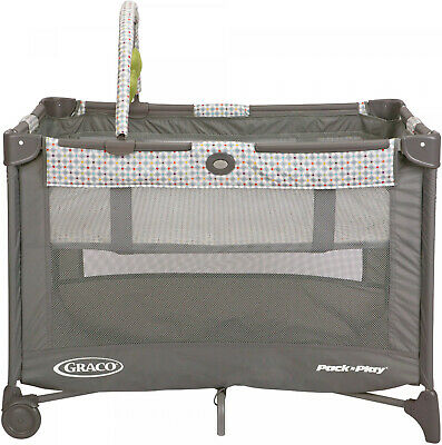 Pasadena Pack n Play On The Go Playard W/ Full-Size Bassinet Portable Baby Crib