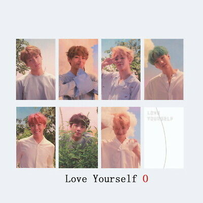 7pcs/Set Kpop BTS Map of The Soul: Persona Paper Photo Cards Jimin V Photocard