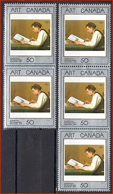 Canada Stamp Mint Set of 5 #1203 - The Young Reader 50¢ (1988)