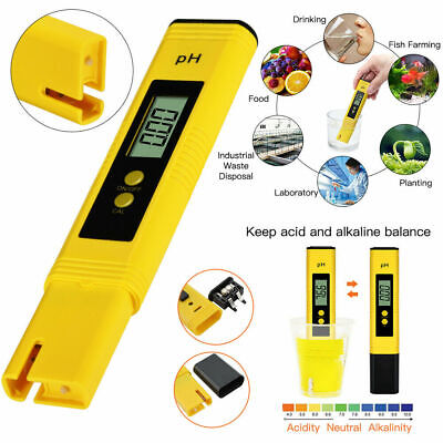 Digital Electric LCD PH Meter Testeur Aquatique Hydroponique Aquarium Test Pen