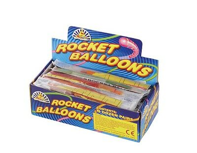 144 reusable rocket balloons{tigers tails}.wedding,party, table gifts.NOISEY FUN