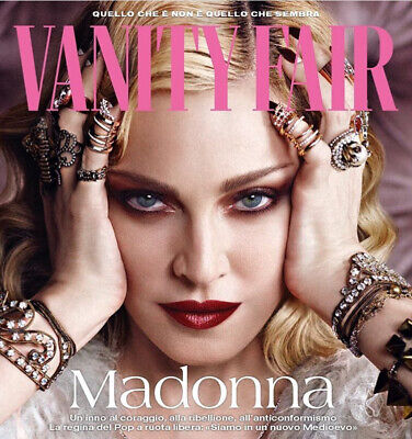 VANITY FAIR Italia Magazine June 2019 MADONNA ONLY 1 WEEK + Sealed FREE GLAMOUR