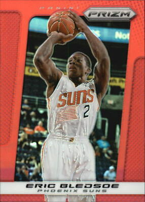 2013-14 Panini Prizm Prizms Red Phoenix Suns Basketball Card #145 Eric Bledsoe