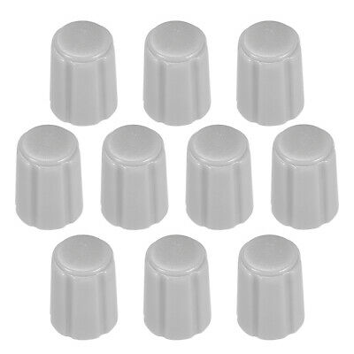 10pcs,D type 6mm Potentiometer Control Knobs For Guitar Volume Tone Knobs Grey