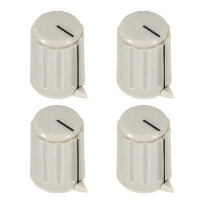4pcs, 4mm Potentiometer Control Knobs For Electric Guitar Volume Tone Knobs Gray