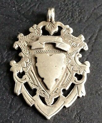 1899 Sterling Silver Fob   (Ref: 8I)