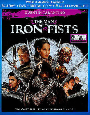 The Man With the Iron Fists (Blu-ray/DVD, 2013, 2-Disc Set)