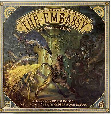 CoolMiniOrNot Boardgame World of Smog - The Embassy Box NM