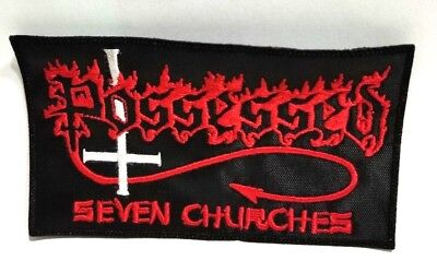 POSSESSED   (seven churches)   EMBROIDERED PATCH