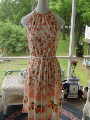 Vintage  Alfred Shaheen Calif/Hawaii, knee length, Sleeveles signed Sun Dress