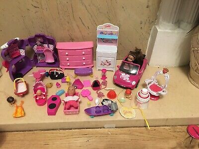 Shelly And Barbie Accessories Doll Furniture Car