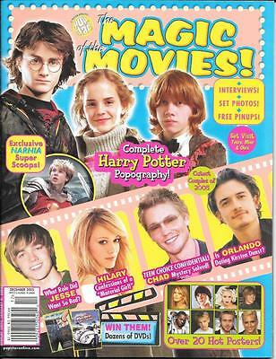 MOVIE MAGIC December 2005 Harry Potter and the Goblet of Fire Collector Magazine
