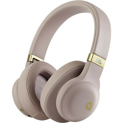 JBL E55 Quincy Edition Over Ear Wireless Headphones Pink 190839548566 Open Box