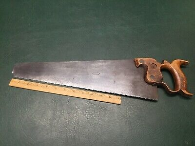 "Antique R. Groves & Sons 16"" Hand Saw ~ Sheffield, England"