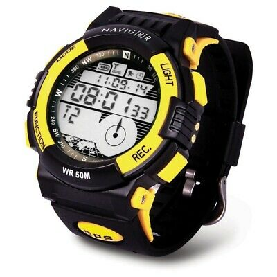 Laser Navig8r Fitness Health Sports Watch With GPS Tracking NAVWATCH-S10