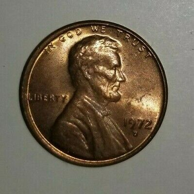 1972 d Lincoln memorial penny  double die obverse/reverse