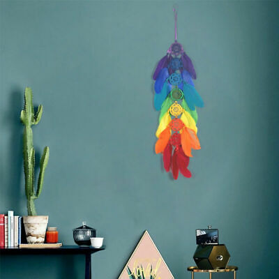 Native American Handmade Large Dream Catcher feather wall car hanging decoration