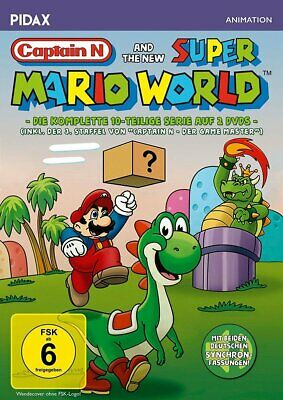 Captain N and the new Super Mario World * DVD Serie * Pidax Animation