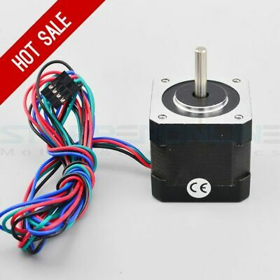 Nema 17 Stepper Motor With 1.8 Angle 1m Cable RepRap Prusa Mendel 90 3D Printer