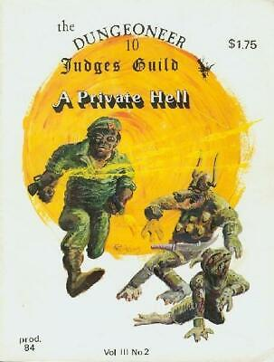"""Judges Guild Dungeoneer #10 """"A New Skills System"""" Mag VG+"""