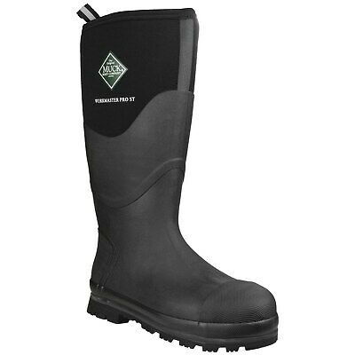 Muck Boots Workmaster Pro Safety Wellington Boots Mens High Waterproof Steel Toe