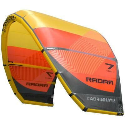 Aile Kitesurf Freeride Crossover RADAR CABRINHA 2018 C11 Yellow/Orange 7,0 m²