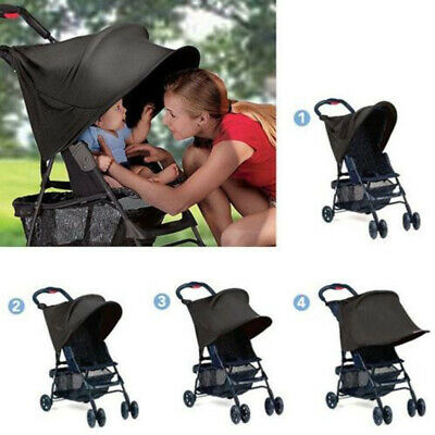 Baby Child Pushchair Stroller Pram Buggy Sun Shade Canopy Cover Universal Canopy