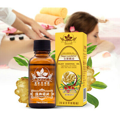 UK 30ml Aromatherapy Ginger Essential Oils Natural Pure Organic Fragrances Oil