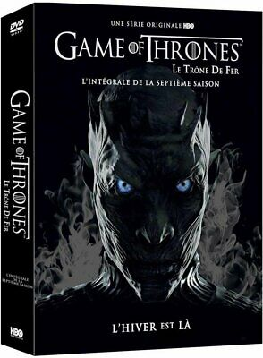 Game Of Thrones Saison 7 DVD John Snow Trone De Fer Dragon  Meilleur Serie HBO