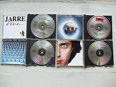 JEAN MICHEL JARRE - 4 CD`s