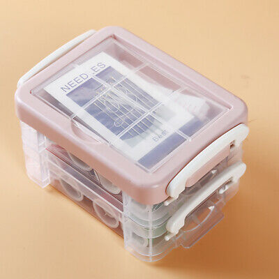 Durable Sewing Box Travel Sewing Kit Needle Thread Threader Tape Popular Novel