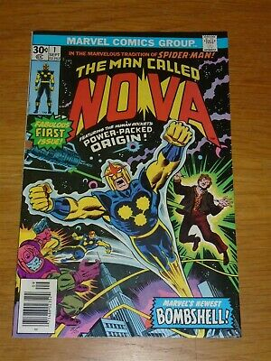 Nova #1 Vf (8.0) Marvel Comics September 1976*