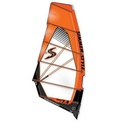 Voile Windsurf Freerace VMAX SIMMER 2018 6.6m² Jaune