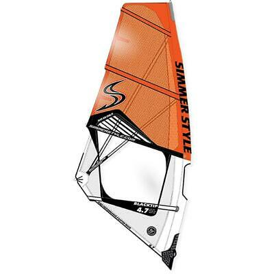 Voile Windsurf SIMMER BLACKTIP 2018 5,3 orange