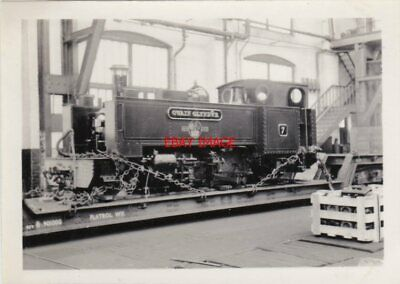 Photo  Gwr Tank Loco No 7 Owen Glyndwr At Swindon 1961