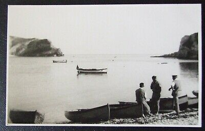 Dorset~Lulworth Cove ~ Real Photograph Postcard~ Unposted~ Dated April 1933
