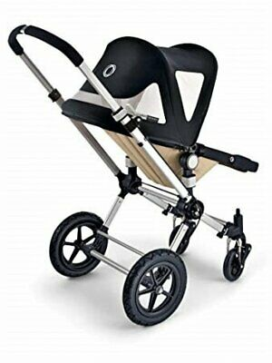 Bugaboo Cameleon Breezy Black Canvas Sun Canopy Pushchair Pram Accessory Baby