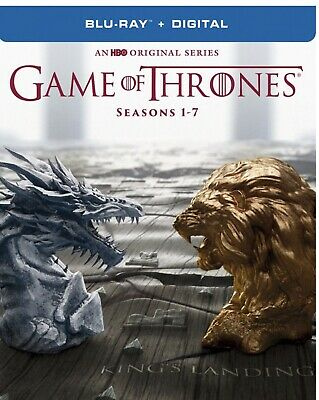 Game of Thrones - Seasons 1 - 7 Collection (Blu-ray/Digital) (New/Factory Seal)