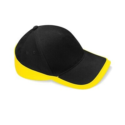Beechfield Teamwear Competition Cap Black/yellow O/s
