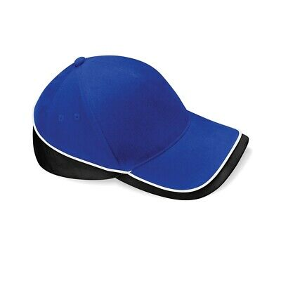 Beechfield Teamwear Competition Cap Bright Royal/black/white O/s