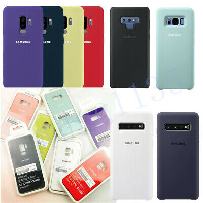 Genuine Official Silicone Case Cover For Samsung Galaxy S8/S9/S10 Plus S10e Note