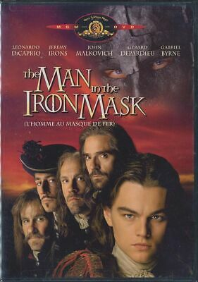 The Man in the Iron Mask (DVD, 2004, Canadian) BRAND NEW