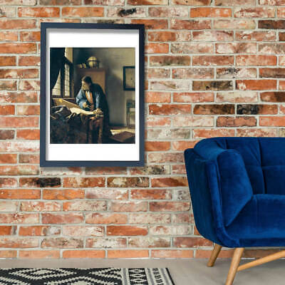 Johannes Vermeer - The Geographer Wall Art Poster Print